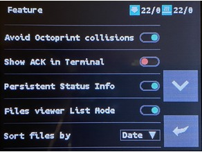 Octoprint collisions avoided in Artillery Sidewinder X1 / Genius TFT FW and Marlin FW Patched (M117 problem)