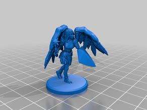 Angel female warrior (chain+shield)
