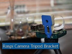Raspberry Pi + Camera Tripod Mounting Bracket