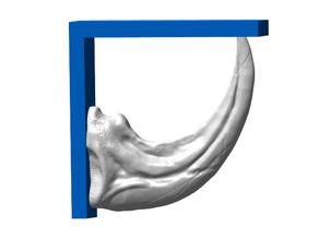 Raptor Claw Shelf Bracket (Nuclear Tape Mount)