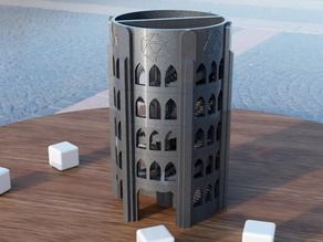 Double Helix da Vinci Dice Tower 2