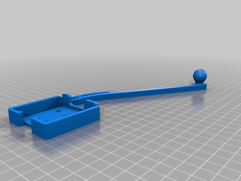 Snapmaker 2.0 - Pi Cam Boom with Ball Mount