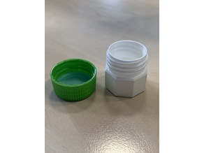 Bottle Cap Container