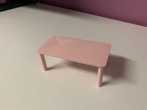 Table - miniature object