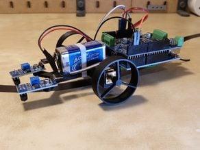 Nanofriedrich, the little experimental robot