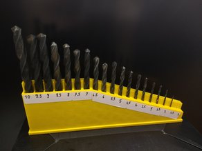 Magnetic Drillbit Holder Organizer - Customizer