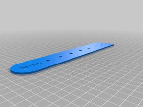 Belt template - 38mm width