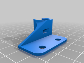 Anycubic i3 Mega cable guide with hole for cable tie