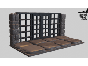 OpenForge 2.0 Dungeon Stone Grate Doors