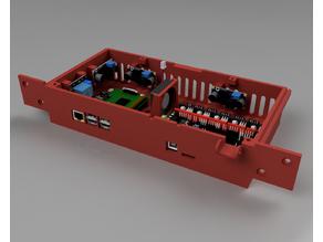 Ender 3 Pro Case Extended Remix (Stock, SKR 1.3, Mini E3, MLK + Raspberry Pi 3/4)