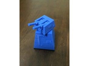 Death Star Laser Turret - Self Elevating Guns