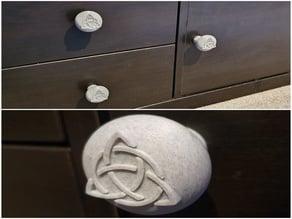 Triquetra Drawer knob