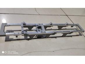 RC Truck V4 aluminum Frame