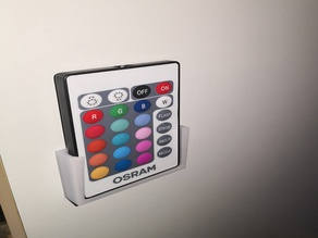 Wall support for Osram RGB controller