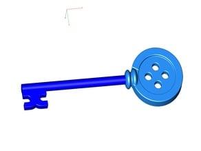 Coraline Button Key