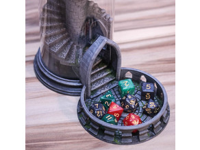 Yet Another (modified) Dice Tower Base and Tray
