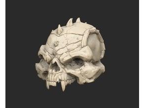 Giant Demon Skull