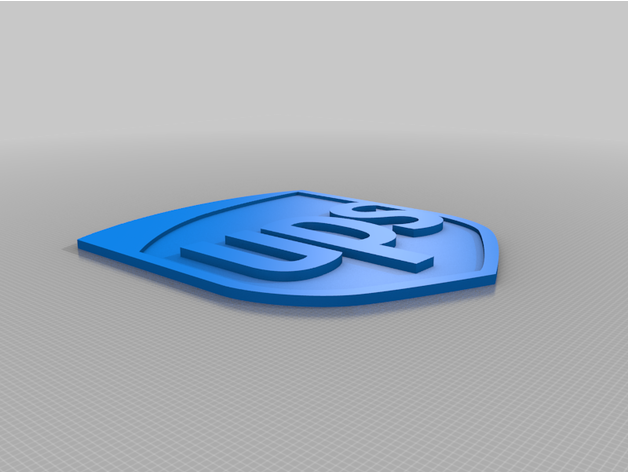 Comments For Ups Logo Hd By Ortizimo Thingiverse