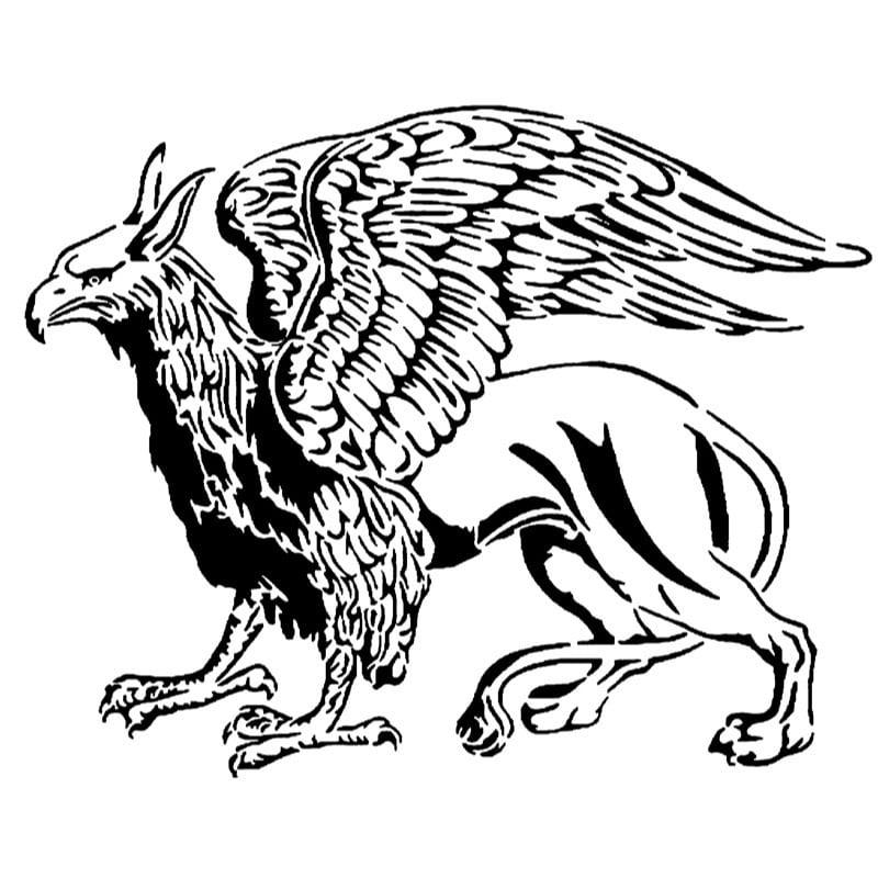 Griffin stencil 2