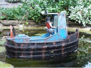 RC Boom Boat / Dozer Boat