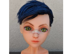 Realistic eyes for the doll