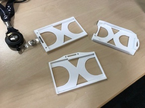 DXC Badgeholder (thick cards)