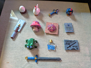 Ocarina of Time Trade Sequence Items