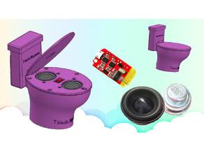 Toilet Speaker bluetooth