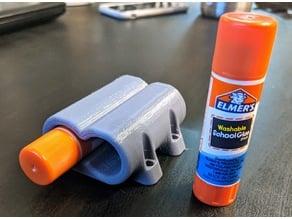Glue Stick Holder Mount - Parametric