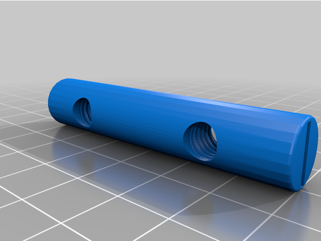 Ikea 110912 Svalbo Dual End Nut Sleeves By Spencer Hayesl Thingiverse