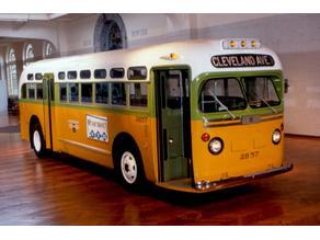 Famous Rosa Parks' Bus (GM TDH 1955)