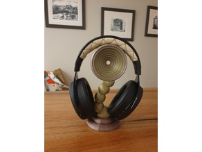 Bubble headphone stand