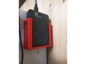 """Wall Mount 3.5"""" Harddisks HDD / Wandhalterung für externe 3.5"""" Festplatten"""