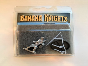 Banana Knight Weapons Sprue for Cast Metal Mini