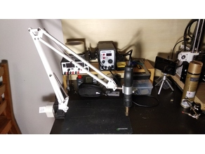 Ikea Tertial Hot Air soldering station clamp