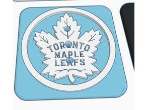 Modular trailer hitch Faceplate -  Maple Leafs