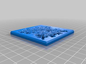 75mm square tiles for 3D deadzone / dead zone board Set 3