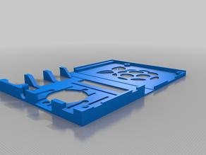 Folding case for Raspberry pi 3b