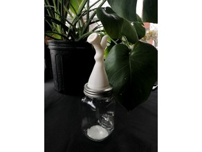 Mason Jar Plant Watering Attachment