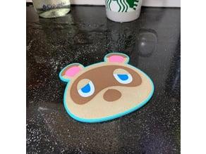 Animal Crossing - Tom Nook Coaster