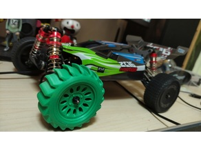 Paddle tyres for 1:14 rc cars (wltoys 144001)