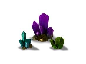 Crystal Clusters - Scatter Terrain