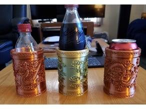 Dragon Vase Can/Bottle Holder
