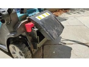 Makita DLM431 lawnmower No-basket adapter.