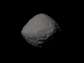 101955 Bennu scaled one in eight thousand