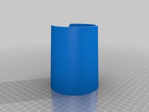 Vaso con escotadura (Cut-out glass)