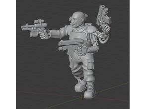 Tech World gunfighter