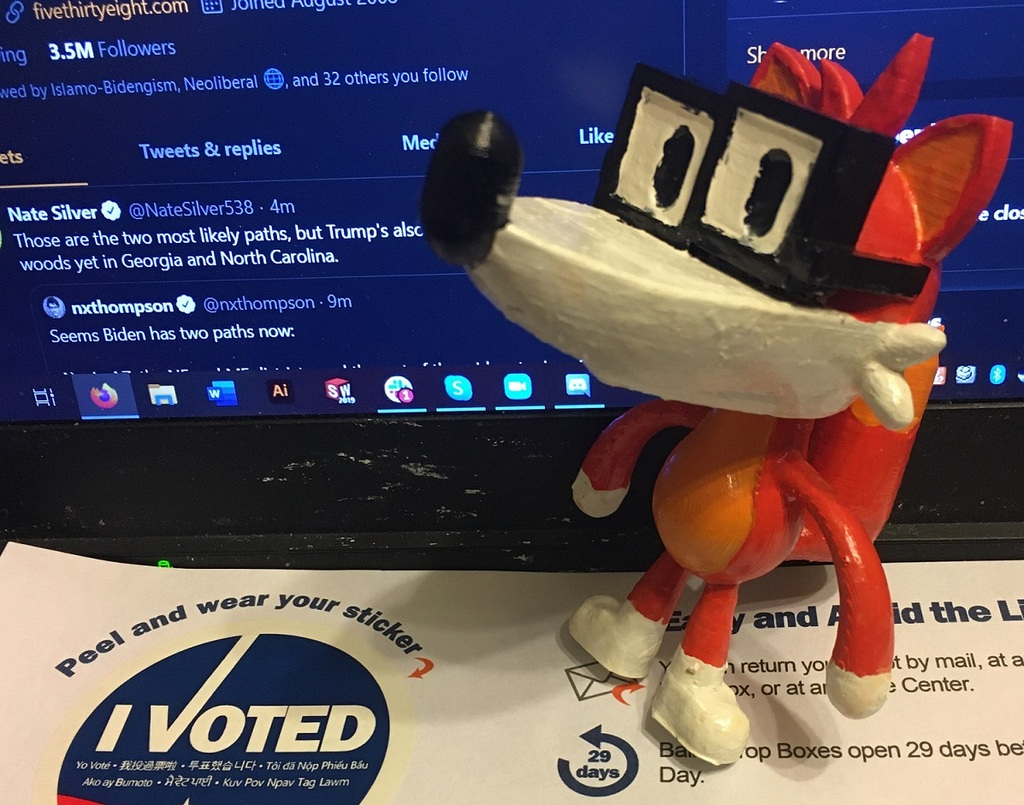 Fivey Fox (538 Mascot)