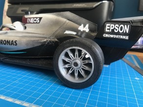Openrc f1 Mercedes f1 weel f104 FRONT AND REAR OPTION DIFF