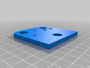 CR-10S Titan Aero Dual Head bracket for Extruder and Hotend (Normal and Mirrored together)
